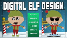 Load image into Gallery viewer, Digital Elf Design | Christmas Activity - Roombop
