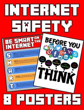 Internet Safety Posters - Roombop