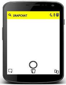 Snapchat Template (Editable in Google Slides) - Roombop