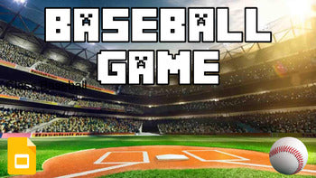 Baseball Review (Google Slides Game Template) - Roombop