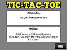 Load image into Gallery viewer, Tic Tac Toe Review (Google Slides Game Template) - Roombop