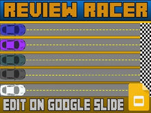 Load image into Gallery viewer, Review Racer (Google Slides Game Template) - Roombop