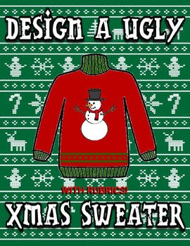 Design a Ugly XMAS Sweater - Roombop