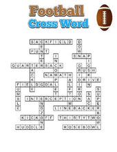 Load image into Gallery viewer, Football Crossword - Roombop