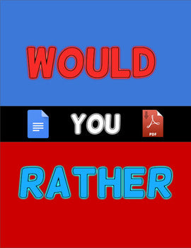 48 Would You Rather + Template (Editable in Google Docs) - Roombop