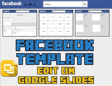 Load image into Gallery viewer, Facebook Template (Editable on Google Slides) - Roombop