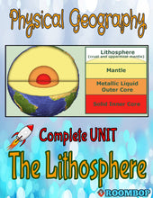 Load image into Gallery viewer, Physical Geography Unit 2 - The Lithosphere - Roombop