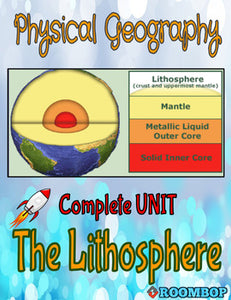 Physical Geography Unit 2 - The Lithosphere - Roombop