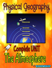 Load image into Gallery viewer, Physical Geography Unit 4 - The Atmosphere - Roombop