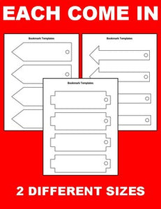 Printable Bookmark Templates (Editable in Google Slides) - Roombop