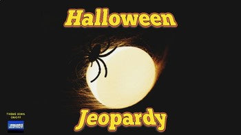 Halloween Jeopardy (Google Slides) - Roombop