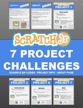 Load image into Gallery viewer, ScratchJr: 7 Project Challenges - Roombop