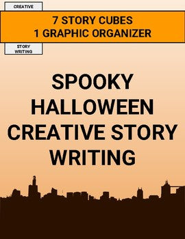 Spooky Halloween Creative Story Writing Activity - Roombop