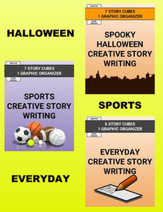 Creative Story Writing Activity Bundle - Roombop