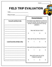 Load image into Gallery viewer, Field Trip Planner (Editable on Google Forms) - Roombop