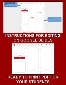 Pinterest Template (Editable on Google Slides) - Roombop