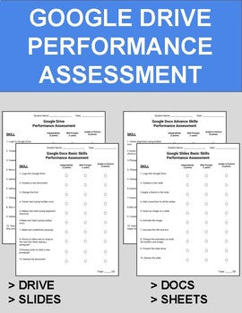 Google Drive Performance Assessment - Roombop