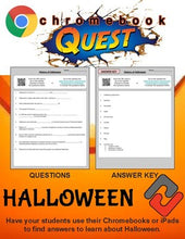 Load image into Gallery viewer, Halloween WebQuest - Engaging Internet Activity (Edit on Google Slides) - Roombop