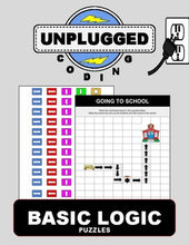 Load image into Gallery viewer, Basic Logic Puzzles (Unplugged Coding #3) - Roombop