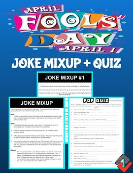 April Fool's Day: Joke Mixup & Pop Quiz - Roombop