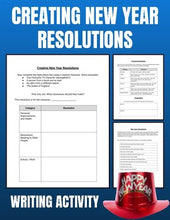 Load image into Gallery viewer, Creating New Year Resolution Activity (Editable in Google Slides) - Roombop