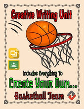 Load image into Gallery viewer, Basketball: Create a Team Project (Google Classroom) - Roombop