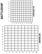 Load image into Gallery viewer, Battleship Printable Board Game (Editable Google Slides) Distance Learning - Roombop