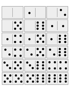 Dominoes Printable Board Game (Editable Google Slides) Distance Learning - Roombop