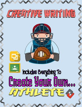 Baseball: Create an Athlete (Google Classroom) - Roombop