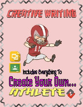 Load image into Gallery viewer, Football: Create an Athlete (Google Classroom) - Roombop