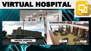 Virtual Hospital Tour (Editable in Google Slides) Distance Learning - Roombop