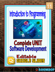 Software Development Full Unit - Intro To Programming - Roombop
