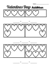 Load image into Gallery viewer, Valentines Day Kindergarten Math - Roombop