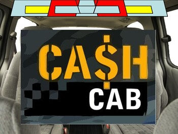 Cash Cab Game (Google Slides Template) - Roombop