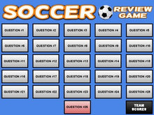 Load image into Gallery viewer, Soccer: Interactive Review Game (Editable on Google Slides) - Roombop