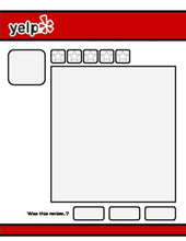 Load image into Gallery viewer, Yelp Review Template (Editable on Google Slides) - Roombop