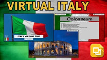 Load image into Gallery viewer, Italy Virtual Country Trip (Editable in Google Slides) - Roombop