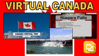 Canada Virtual Country Trip (Editable in Google Slides) - Roombop