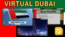 Load image into Gallery viewer, Dubai Virtual Country Trip (Editable in Google Slides) - Roombop