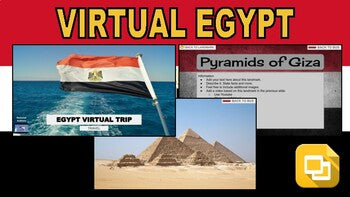 Egypt Virtual Country Trip (Editable in Google Slides) - Roombop