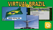 Load image into Gallery viewer, Brazil Virtual Country Trip (Editable in Google Slides) - Roombop