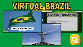 Brazil Virtual Country Trip (Editable in Google Slides) - Roombop