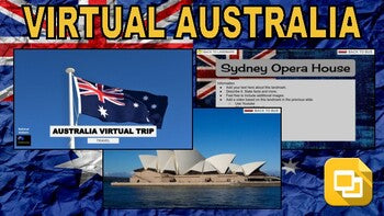 Australia Virtual Country Trip (Editable in Google Slides) - Roombop