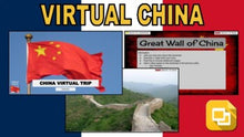 Load image into Gallery viewer, China Virtual Country Trip (Editable in Google Slides) - Roombop