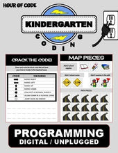 Load image into Gallery viewer, Back To School September | Kindergarten Unplugged / Digital Coding - Roombop