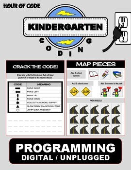 Back To School September | Kindergarten Unplugged / Digital Coding - Roombop