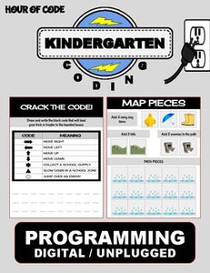 Rainy April | Kindergarten Unplugged / Digital Coding - Roombop