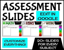 Load image into Gallery viewer, Assignment Slides | Edit in Google Slides | Distance Learning Slides - Roombop