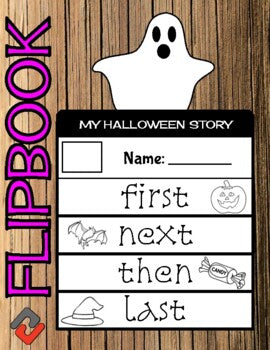Halloween October Flipbook - Roombop