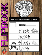 Load image into Gallery viewer, Thanksgiving Turkey November Flipbook - Roombop